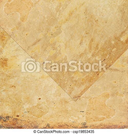 the old parchment - csp19853435