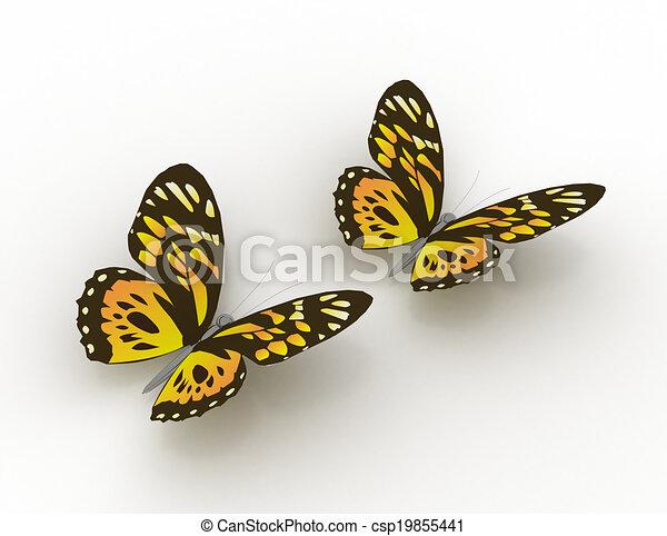 Disegno di farfalla concetto 3dcsp19855441 cerca for Disegno 3d free
