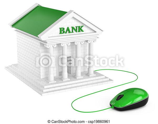 Internet banking account. Concept. - csp19860961