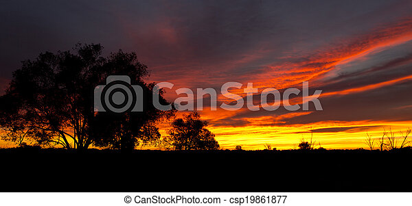Outback Sunrise - csp19861877