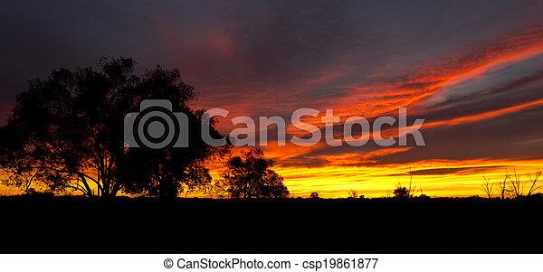 Outback Sunrise  - csp19861877