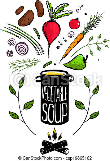 Cooking vegetable soup Vector Clip Art EPS Images. 1,750 Cooking ...
