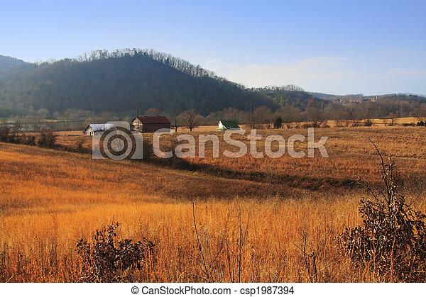 Rural Tennessee Farm - csp1987394