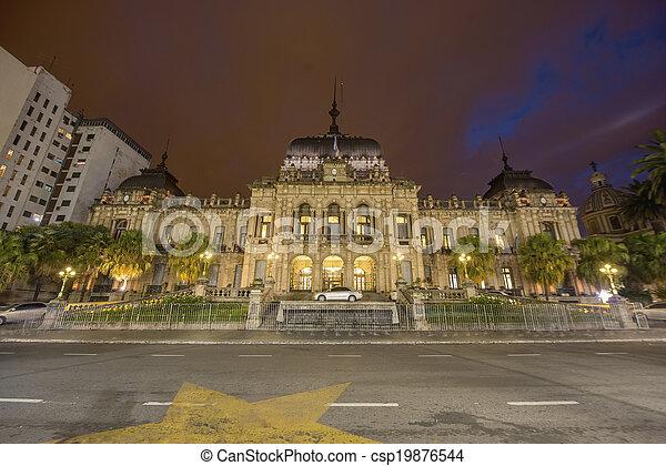 Government Palace in Tucuman, Argentina. - csp19876544