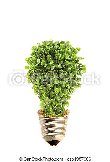 Eco tree lightbulb - csp1987666
