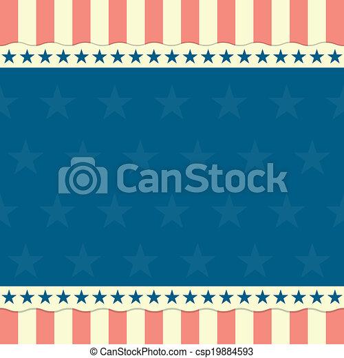 patriotic background - csp19884593