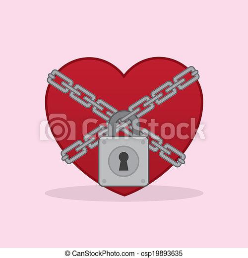 locked lock clip art