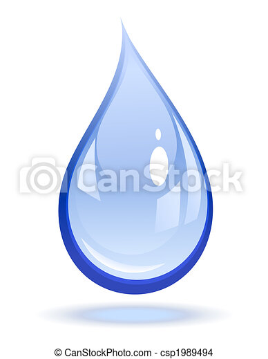 Water drop - csp1989494