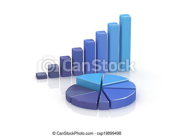business chart. - csp19899498