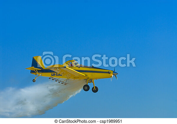 Crop duster aircraft. - csp1989951