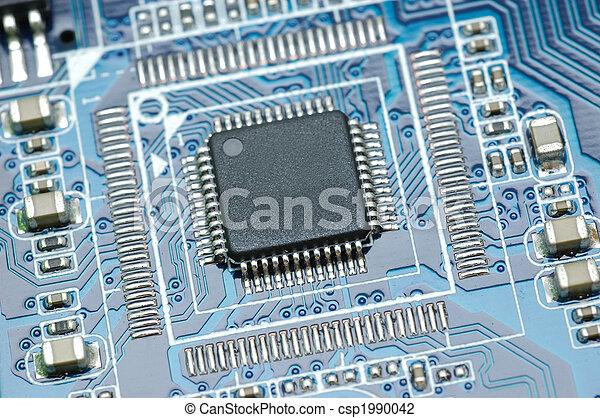 Micro chip closeup - csp1990042