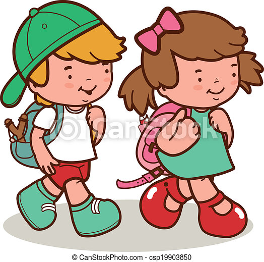 kids get dressed clipart
