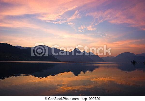 Mountain Sunrise - csp1990729
