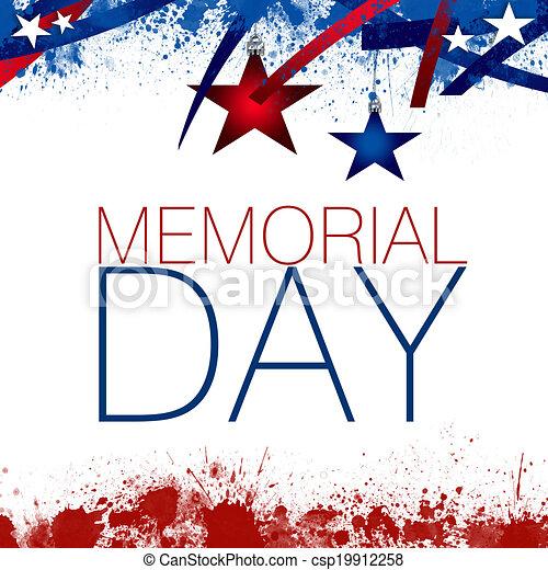Memorial Day - csp19912258