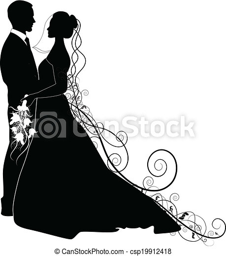 WEDDING COUPLE - csp19912418