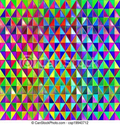 Clipart Van Spectral Achtergrond Blokjes Gekleurde