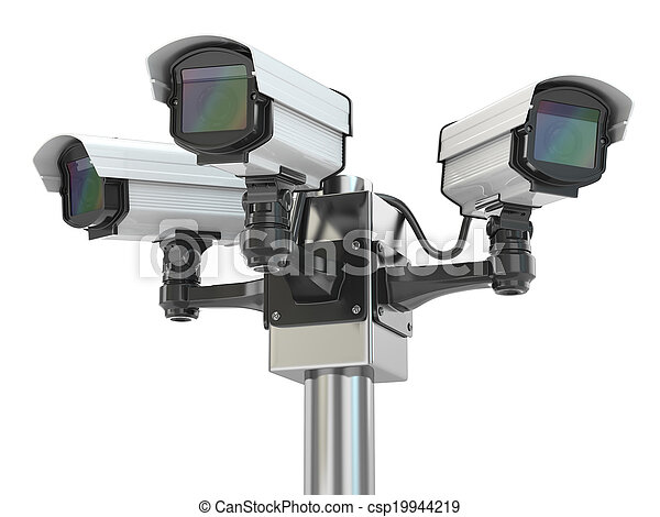 CCTV security camera - csp19944219