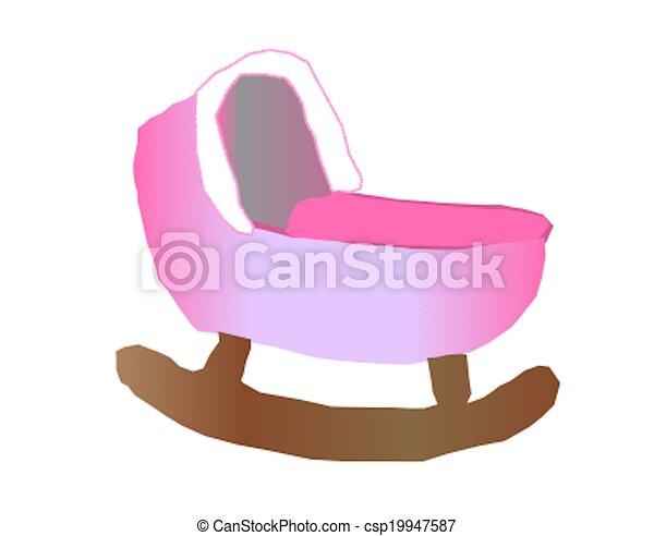 Baby Cradle - csp19947587