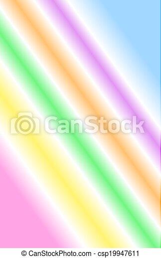 Neon Rainbow - csp19947611