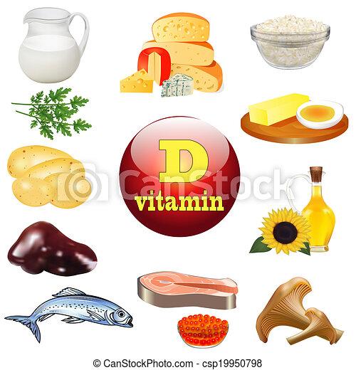 维生素, d, 植物, 动物