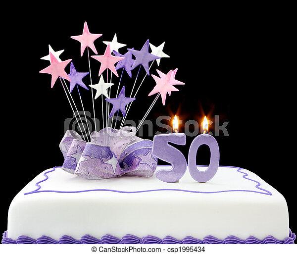 50th Cake - csp1995434