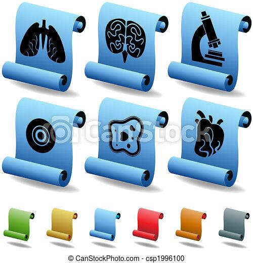 3D Biology Scrolls - csp1996100
