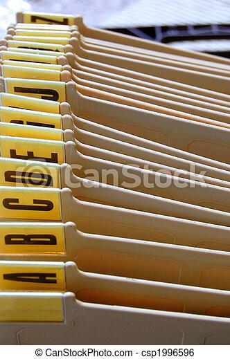 alphabetical organizer - csp1996596