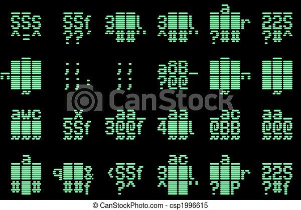 Computer Code Icon Computer Code Csp1996615