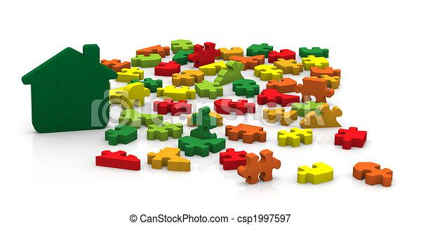 Buildings Energy Performance Puzzle - csp1997597