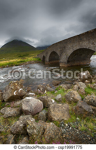 Bridges in the hills  - csp19991775
