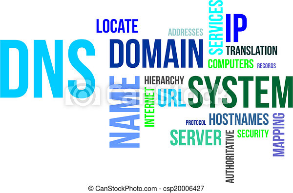 Domain Name System Clip Art