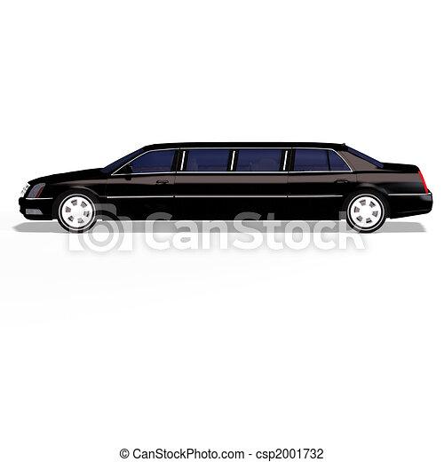 black limo - csp2001732
