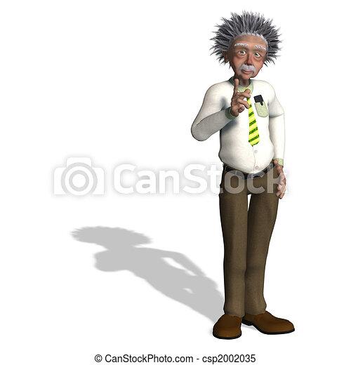 Albert Einstein - csp2002035