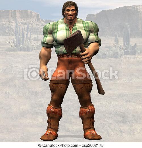 Lumberjack #01 - csp2002175