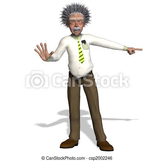 Albert Einstein - csp2002246