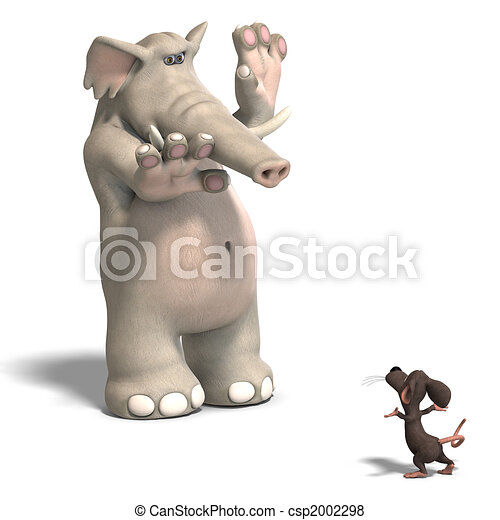 elephant and mouse - csp2002298