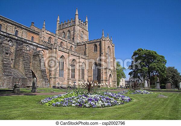 Dunfermline Abbey, Scotland - csp2002796