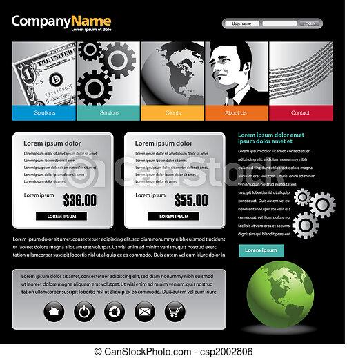 web site design - csp2002806