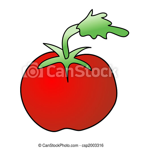Stock de Ilustracion de tomate - infantil, Ilustración, aislado ...