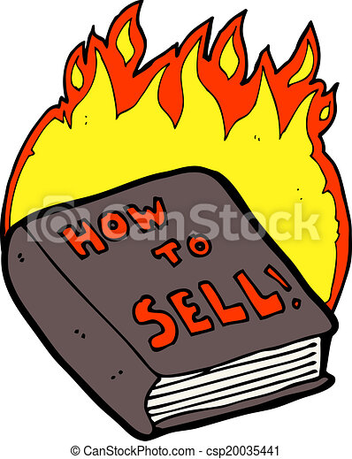 Eps vector of cartoon how to sell book csp20035441 for How to sell drawings online
