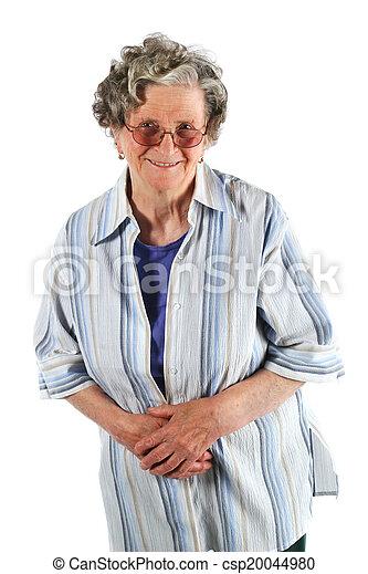 Happy grandmother - csp20044980