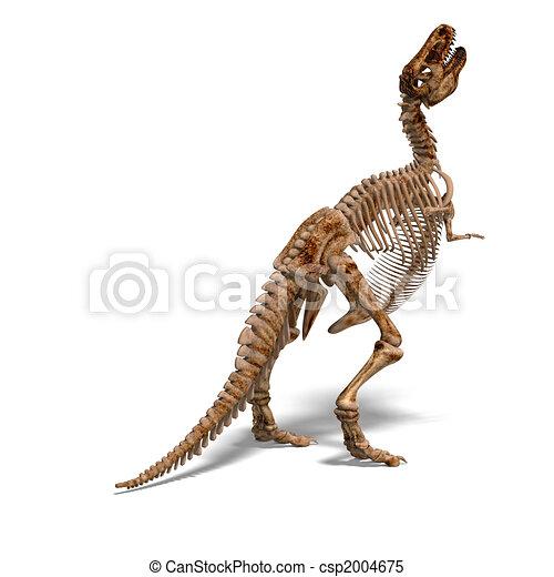T-Rex Skeleton - csp2004675