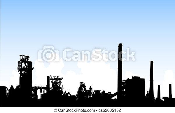 Industrial skyline - csp2005152