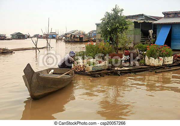 Tonle Sap lake - csp20057266