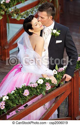 夫婦, 婚禮 - csp2006019