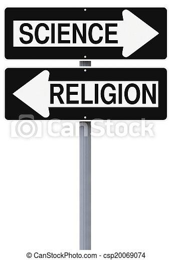 Science Versus Religion  - csp20069074