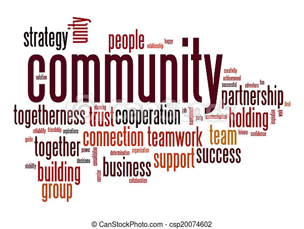 Community word cloud - csp20074602