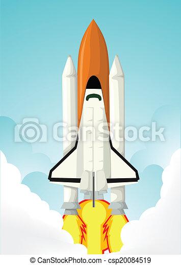 Space shuttle - csp20084519