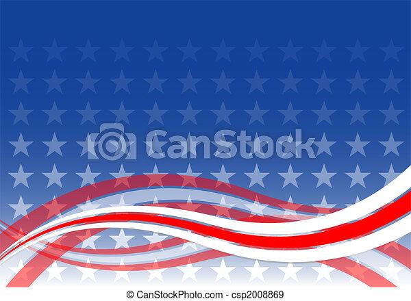 USA, achtergrond - csp2008869