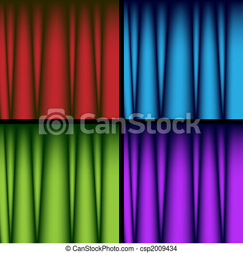 Drapery Background - csp2009434